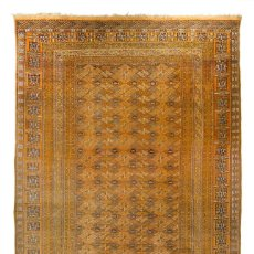 Antigüedades: ALFOMBRA LANA ORIENTAL ANUDADA A MANO - AFGHAN - PAKISTÁN - NUDO PERSA - SENNEH. Lote 138596562