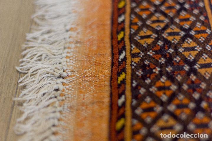 Antigüedades: Alfombra lana oriental anudada a mano - Afghan - Pakistán - Nudo Persa - Senneh - Foto 2 - 138596562