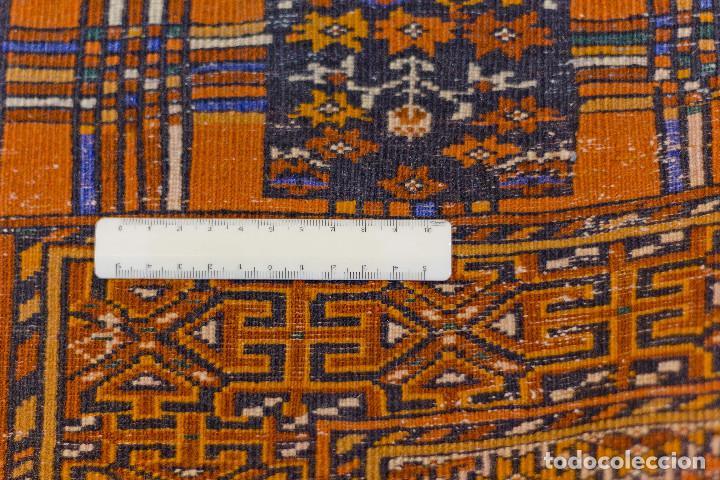 Antigüedades: Alfombra lana oriental anudada a mano - Afghan - Pakistán - Nudo Persa - Senneh - Foto 8 - 138596562