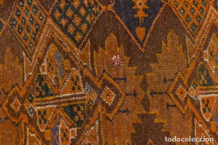 Antigüedades: Alfombra lana oriental anudada a mano - Afghan - Pakistán - Nudo Persa - Senneh - Foto 12 - 138596562