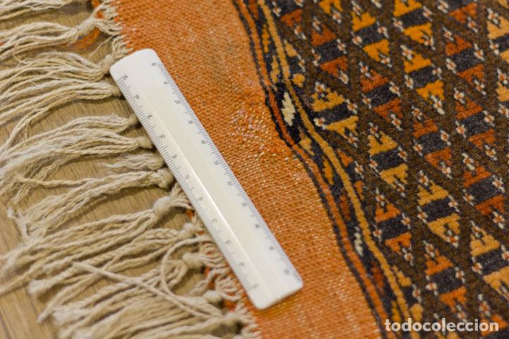 Antigüedades: Alfombra lana oriental anudada a mano - Afghan - Pakistán - Nudo Persa - Senneh - Foto 13 - 138596562
