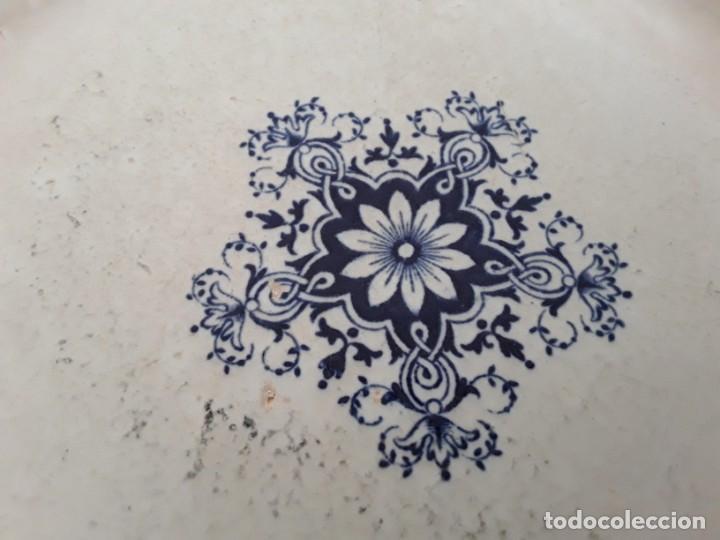 Antigüedades: Antiguos Platos cerámica Jules Vieillard. S. XIX - Foto 12 - 138630750