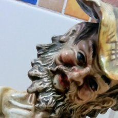 Antigüedades: FIGURA PORCELANA CAPODIMONTE. Lote 138648378