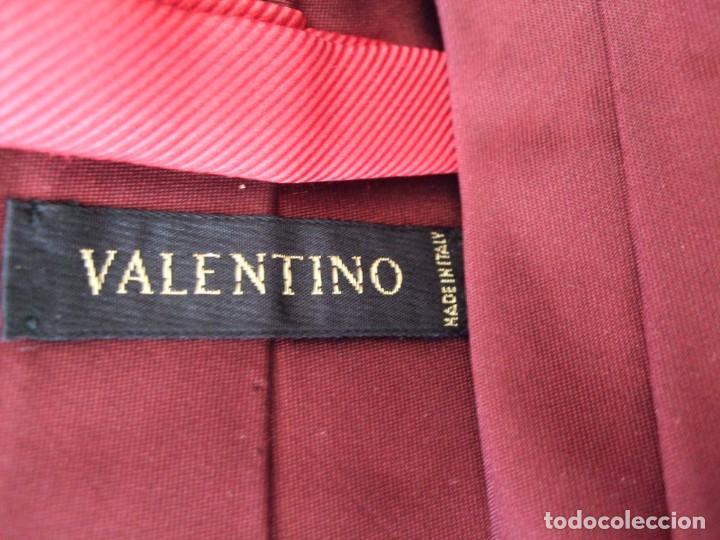 Antigüedades: VINTAGE . ELEGANTE CORBATA VALENTINO. SEDA . ITALY - Foto 5 - 138649558