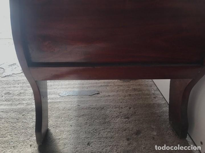 Antigüedades: SOFÁ ISABELINO EN MADERA DE CAOBA RUBIO - Foto 15 - 138728982