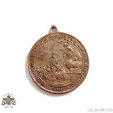 Antigüedades: MEDALLA DE SAN JOSE DE CALASANZ, FUNDADOR DE LAS ESCUELAS PIAS, EN BRONCE.PRINCIPIOS SIGLO XX. Lote 138736414