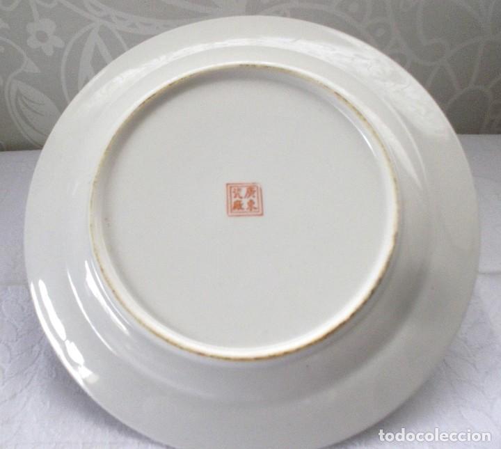 Antigüedades: PLATO CHINO GRANDE-25'5 CM - Foto 7 - 138797662
