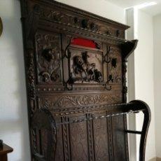 Antigüedades: PERCHERO CASTELLANO. Lote 138803961