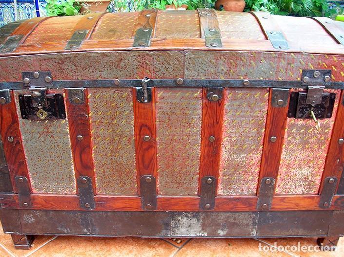 BAÚL ARCA ANTIGUO (Antigüedades - Muebles Antiguos - Baúles Antiguos)