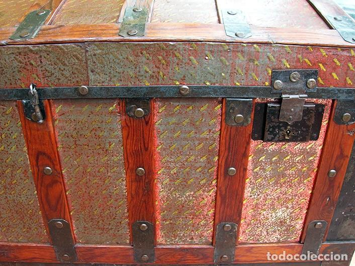 Antigüedades: BAÚL ARCA ANTIGUO - Foto 2 - 138817594