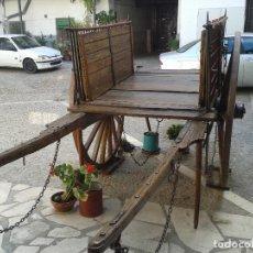Antigüedades: CARRO DE DOS VARAS. Lote 138822398