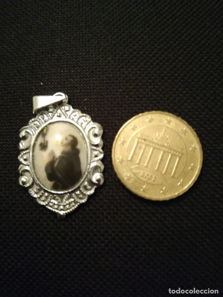 MEDALLA RELIGIOSA ANTIGUA SAN PASCUAL BAILON (Antigüedades - Religiosas - Medallas Antiguas)