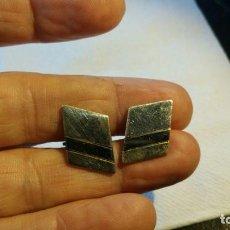 Antiguidades: GEMELOS DE PLATA ART DECO CON MARCHAMO 925 - G4. Lote 138845530