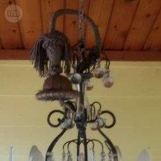 Antigüedades: LAMPARA ARAÑA ESTILO GUARDIOLA. Lote 138875754
