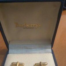 Antigüedades: GEMELOS BURBERRYS. Lote 138915560