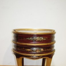 Antiquitäten - MESA ANTIGUA ISABELINA PINTADA A MANO - 138963802