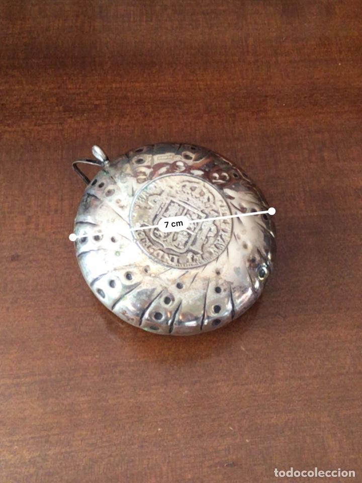 Antigüedades: Conjunto de ceniceros con monedas de plata de ley - Foto 5 - 138967990