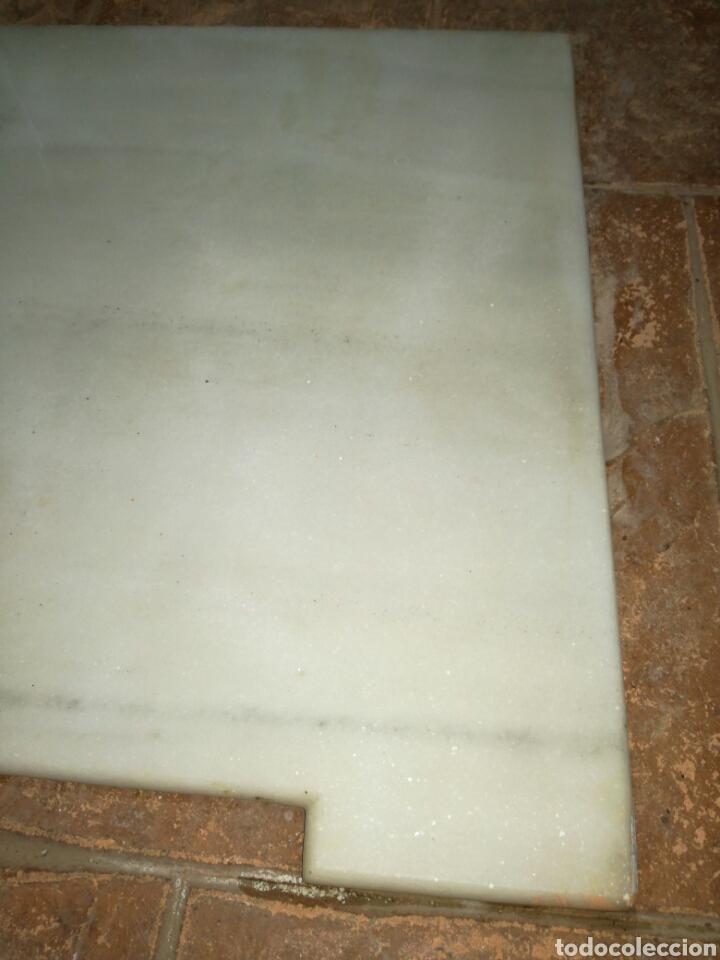Antigüedades: Antigua tapa de marmol de Cómoda - Foto 4 - 138987314