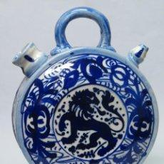 Antigüedades: BOTIJO DE CERAMICA. MANISES. FINALES SIGLO XIX-PPIOS. SIGLO XX. Lote 138987870
