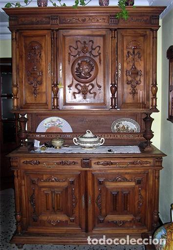 Antigüedades: Chinero alacena Antiguo - Foto 2 - 138988814