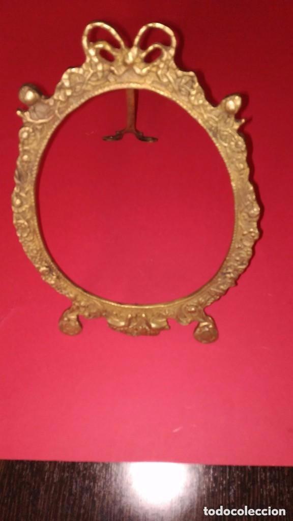 MARCO DE BRONCE (Antigüedades - Hogar y Decoración - Marcos Antiguos)