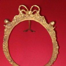 Antigüedades: MARCO DE BRONCE. Lote 139036310