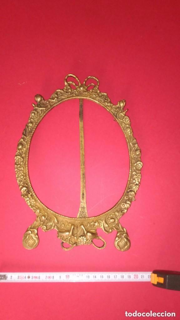 Antigüedades: marco de bronce - Foto 2 - 139036310