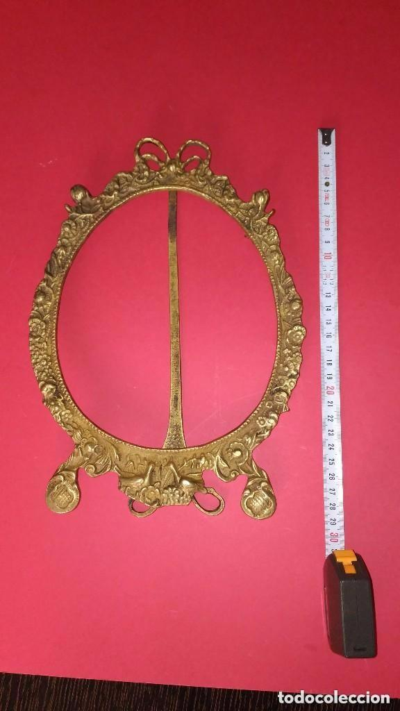 Antigüedades: marco de bronce - Foto 3 - 139036310