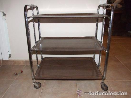 Antigüedades: 1960, VINTAGE, MESA DE SERVIR, CARRO DE SERVIR - Foto 3 - 139044618