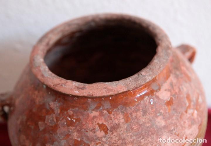 Antigüedades: Antigua tinaja de barro. - Foto 2 - 139050646