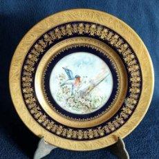 Antigüedades: PLATO DE PORCELANA DE SEVRES. Lote 139066238