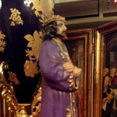 Antigüedades: CRISTO DE MEDINACELI. NAZARENO. ESTUCO POLICROMADO.. Lote 139068116