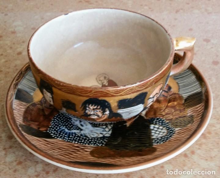 TAZA Y PLATO MADE IN JAPAN (Antigüedades - Porcelana y Cerámica - Japón)
