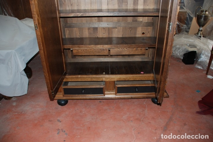 Antigüedades: BUFFET ANTIGUO DE ROBLE - Foto 7 - 138987382