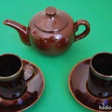Antigüedades: JUEGO DE CAFÉ O TÉ DE CERÁMICA - ROYAL SPHINX MAASTRICHT - HOLANDA. Lote 139167066