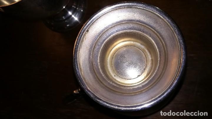 Antigüedades: JUEGO DE TÉ PLATEADO - Foto 3 - 139176046
