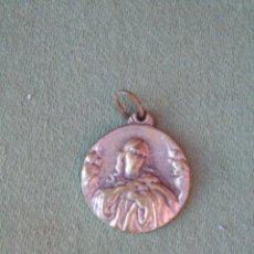 Antigüedades: MEDALLA METÁLICA,. VIRGEN. 2CM. Lote 139179390