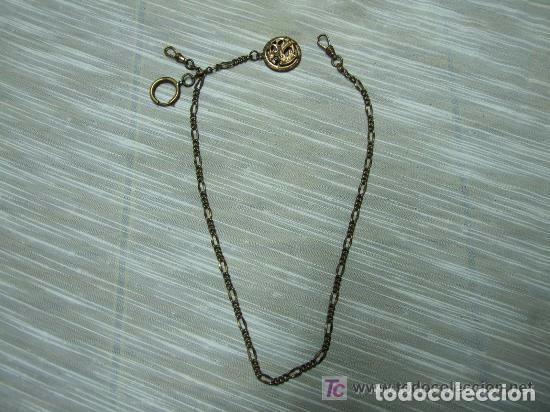 Antigüedades: ANTIGUA CADENA RELOJ - Foto 2 - 139183666