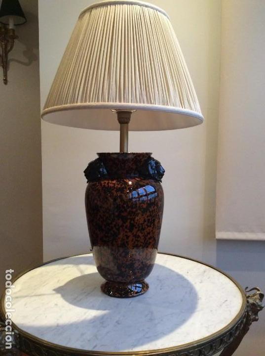 Antigüedades: Lámpara porcelana - Foto 3 - 139194762