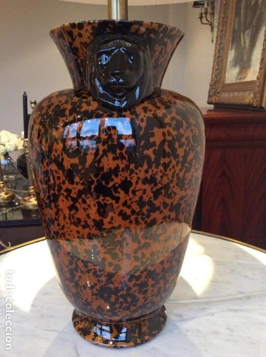Antigüedades: Lámpara porcelana - Foto 5 - 139194762