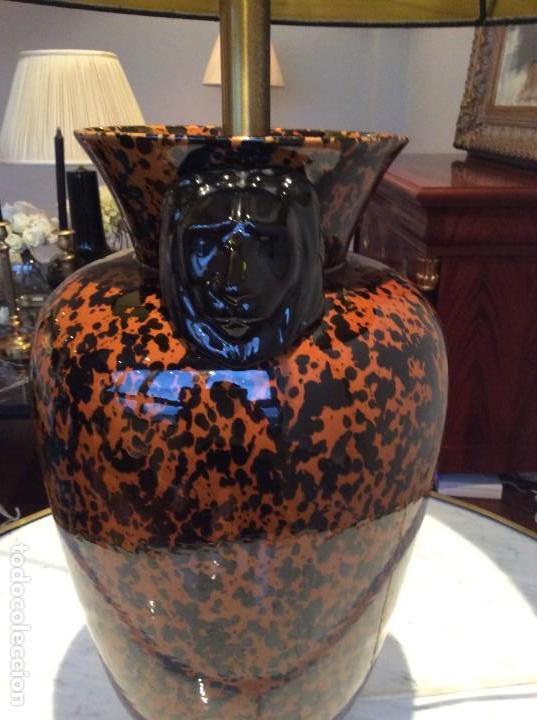 Antigüedades: Lámpara porcelana - Foto 2 - 139194762