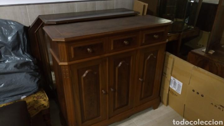 Antigüedades: Mueble recibidor zapatero - Foto 2 - 139198678