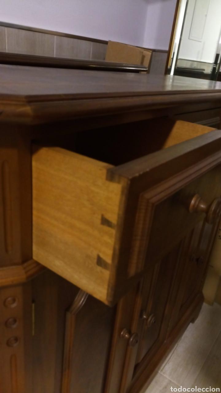 Antigüedades: Mueble recibidor zapatero - Foto 3 - 139198678