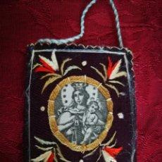 Antigüedades: ESCAPULARIO VIRGEN DEL CARMEN. Lote 139215237