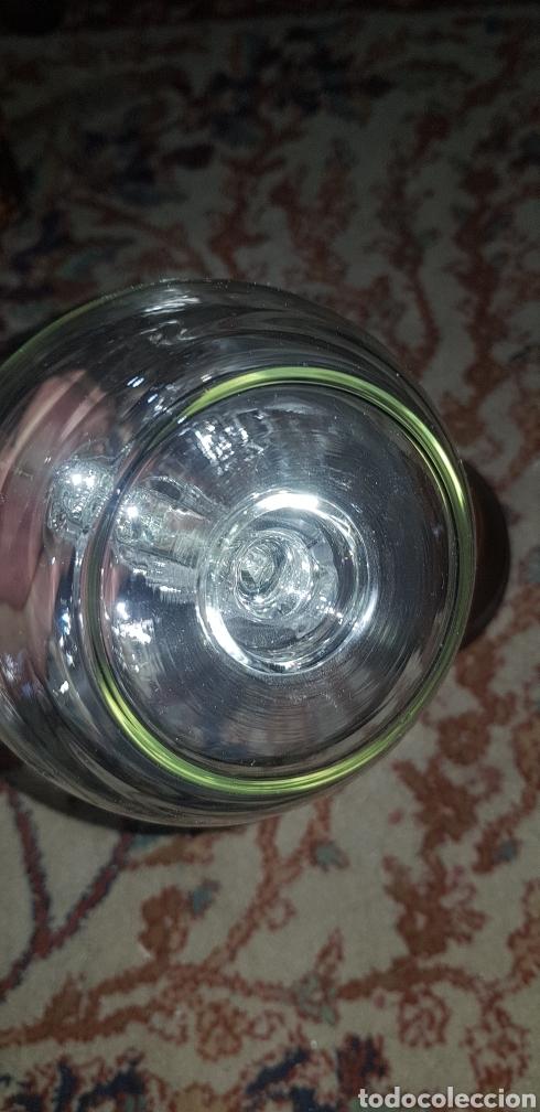 Antigüedades: Botella en cristal soplado con barco dentro - Foto 4 - 139215693