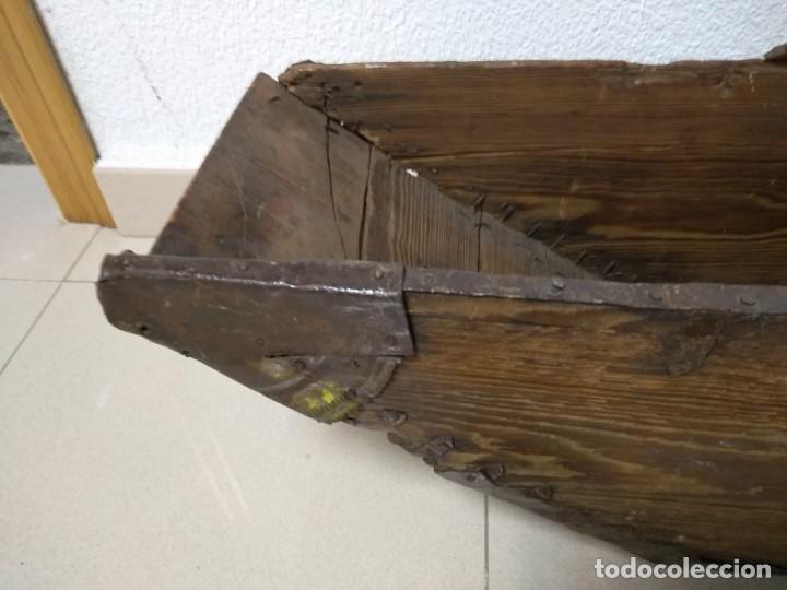 Antigüedades: ANTIGUA FANEGA MEDIA FANEGA CELEMIN - Foto 2 - 139218858