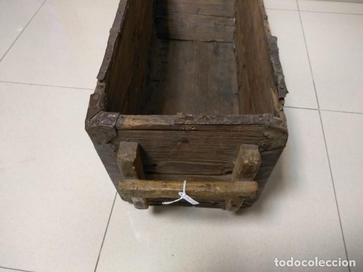 Antigüedades: ANTIGUA FANEGA MEDIA FANEGA CELEMIN - Foto 5 - 139218858