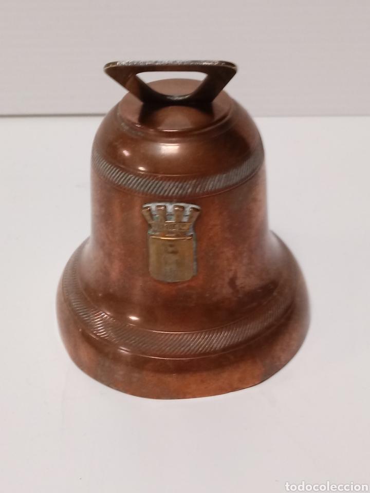 CAMPANA EN COBRE MARCADA GAOR 8 CM (Antigüedades - Hogar y Decoración - Campanas Antiguas)