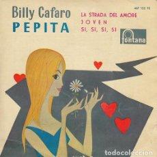Discos de vinilo: BILLY CAFARO - PEPITA - EP DE VINILO. Lote 139230870