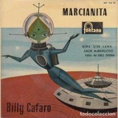 Discos de vinilo: BILLY CAFARO - MARCIANITA - EP DE VINILO. Lote 139231002
